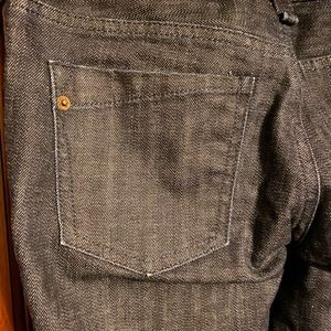 Express Jeans - Express Dark Wash Barely Bootcut Jeans